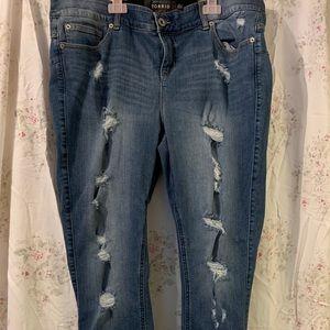 Torrid Bombshell Skinny Jeans Size 18